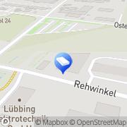 Karte Leibersperger + Knüttel GmbH Porta Westfalica, Deutschland