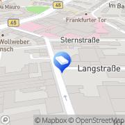 Karte mainAccounting Hanau, Deutschland