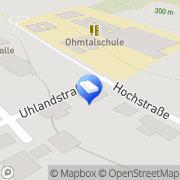 Karte E. Rudolph Steuerberater Homberg, Deutschland