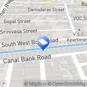 Map Axis Letters Chennai, India