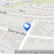 Karte Unbemannte Flugsysteme Kilian Nidda, Deutschland