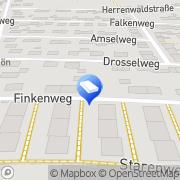 Karte FUSSBODEN Schmidt Aschaffenburg, Deutschland