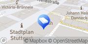 Karte ABC Agentur Stuttgart, Deutschland