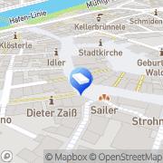 Karte Angelika Mohr Rechtsanwältin Stuttgart, Deutschland