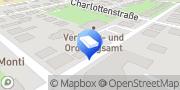 Karte Kfz Zulassungen und Kennzeichen Kroschke Reutlingen, Deutschland