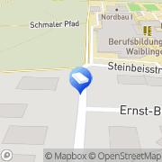 Karte Osswald Wäscherei Wäscherei Waiblingen, Deutschland