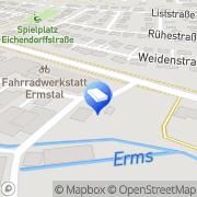 Karte Bärmann Ulrich Zimmergeschäft Metzingen, Deutschland