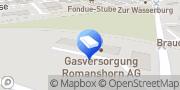 Karte Gasversorgung Romanshorn AG Romanshorn, Schweiz