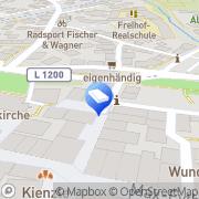 Karte Volker Humburg Rechtsanwalt Kirchheim, Deutschland