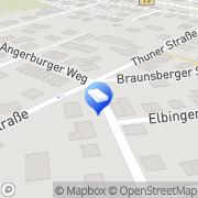 Karte Arbeitsvermittlung Stade, Deutschland