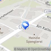 Karte INBAU Türen & Parkett Kopf Klaus, Österreich