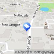 Kort Ravn´s Malerfirma Broager, Danmark