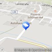 Karte Fetzel GmbH Schlins, Österreich