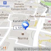 Karte Tenk Eislingen, Deutschland