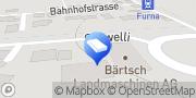 Karte Bärtsch Forst & Garten GmbH Pragg-Jenaz, Schweiz