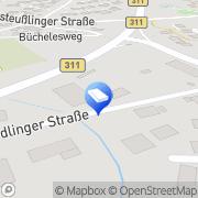 Karte Wilhelm Rettenberger Ehingen, Deutschland