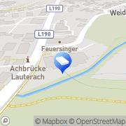 Karte Josef Pircher Immobilienverwaltung Bregenz, Österreich