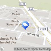 Karte RS Dienstleistungen Dornbirn, Österreich