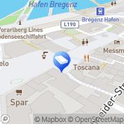 Karte Engel & Völkers Bregenz/Vorarlberg Bregenz, Österreich