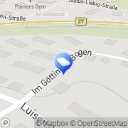 Karte GWH Gemeinnützige Wohnungsgesellschaft Bebra, Deutschland