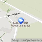Karte Küchenstudio Müller & Bauer GmbH Oberleichtersbach, Deutschland