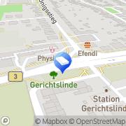 Karte WRG Wirtschaftsförderung Region Göttingen, Deutschland