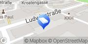 Karte Steuerberater Seufert-Engelhardt & Hennig GbR Würzburg, Deutschland