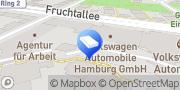 Karte VW FS Rent-a-Car - Hamburg Eimsbüttel Hamburg, Deutschland