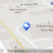 Karte Walz Ulm, Deutschland