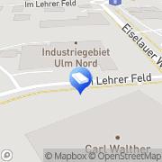 Karte Walz GmbH & Co. Ulm, Deutschland