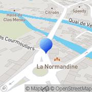 Carte de Apave Nord Ouest Argentan, France