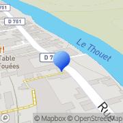 Carte de Chapin et Landais S.A. Saumur, France