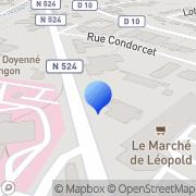 Carte de Electro Diesel S.A. Langon, France