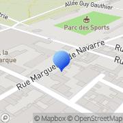 Carte de Camus 'La Grande Marque' S.A. Cognac, France