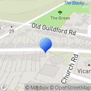 Map Sussex Chimney Square Mile, United Kingdom