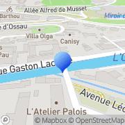 Carte de Dehousse S.A. Pau, France