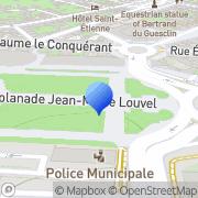 Carte de MARIAGE EN NORMANDIE Caen, France
