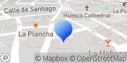 Map Residencia universitaria Misioneras Huesca, Spain