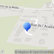 Carte de Gosselin S.A. Carpiquet, France