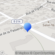 Carte de Dal'Alu S.A. Beautiran, France