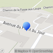 Carte de B.M.S.O. S.A. Saint-Jean-d'Angély, France