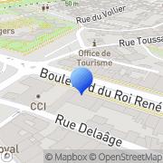 Carte de C.C.I. d'Angers Angers, France