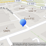 Carte de E.T.D.E. S.A. - Entreprise de Transport et Distribution d'Energies Beaucouzé, France