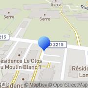 Carte de Aquitaine Informatique BTP S.A.R.L. Eysines, France