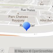 Carte de Etablissements Bonillo S.A.R.L. Mérignac, France