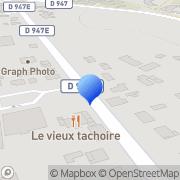 Carte de Etablissement Pierre Bouneau et Fils S.A. Saint-Paul-lès-Dax, France