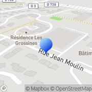 Carte de Etablissements Trepeau S.A. Marennes, France