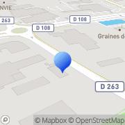 Carte de E.R.C. Harranger S.A. - Entreprise Rochelaise de Constructions Harranger Périgny, France