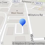 Map Precision Moulding Components 2017 Ltd South Wigston, United Kingdom