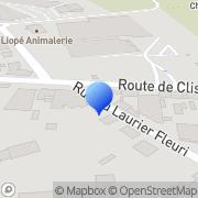 Carte de Etablissements Henri Fillaud S.A. Vertou, France